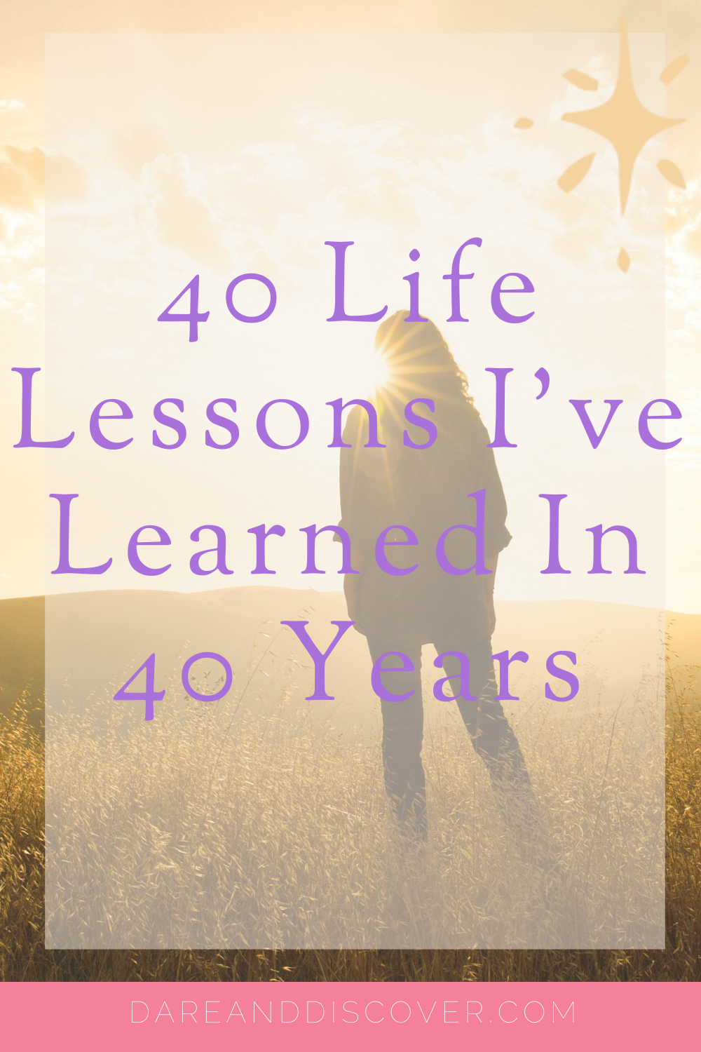 I've officially hit 40 years old! The number itself doesn't bother me, but I've been more reflective these past few months about the lessons I've learned in 40 years. I decided to write a list of life lessons I've learned in 40 years! | Life Lessons | Turning 40 | Life Lessons In 40 Years | #LifeLessons