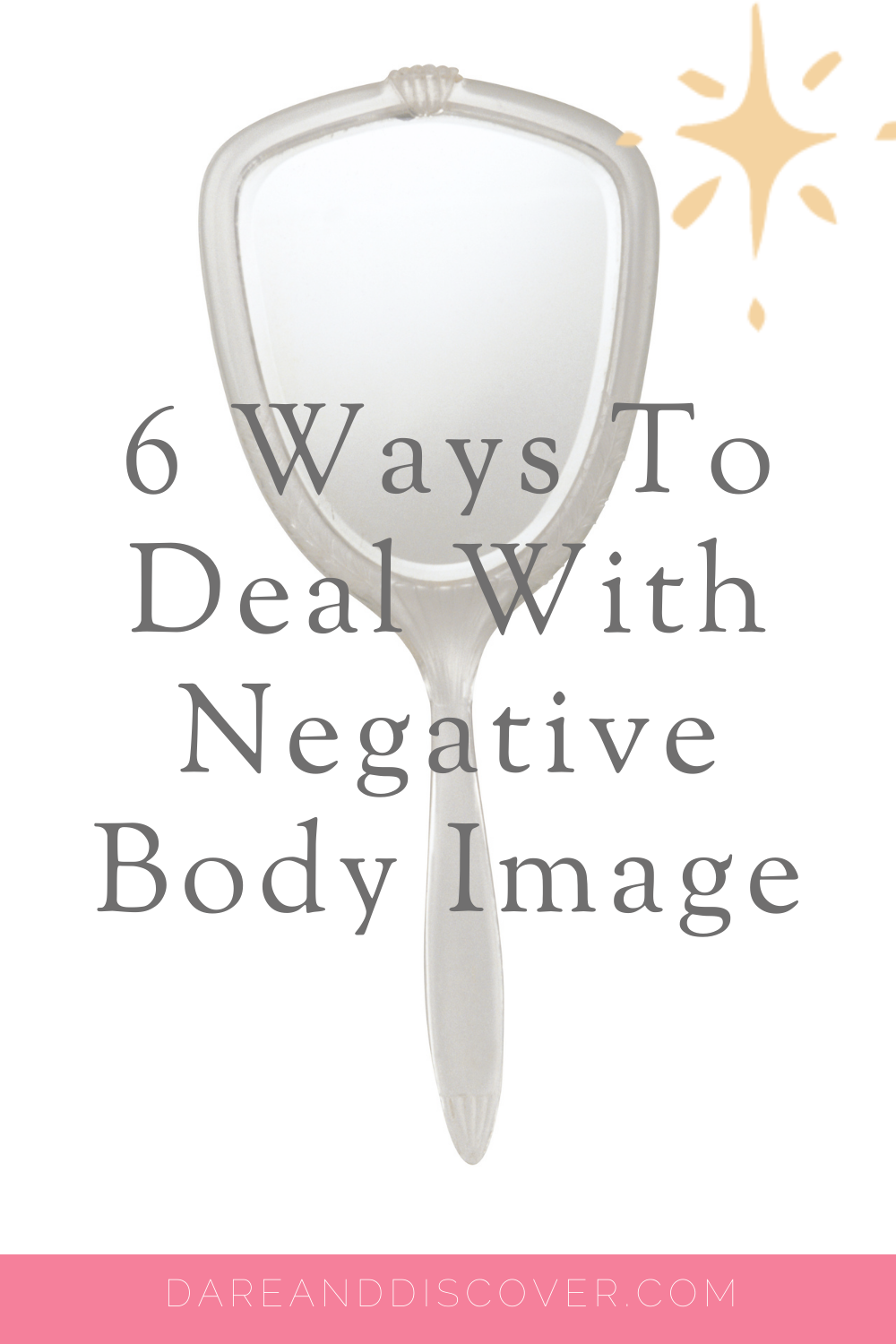 It seems that more and more people are struggling with negative body image. Social media certainly contributes to negative body image; however, our underlying insecurities about our bodies may come from other experiences. If you struggle with feeling happy in your own skin, I go through six strategies which might help. | Negative Body Image | How To Deal With Negative Body Image #BodyImage #BodyAcceptance #SelfCare