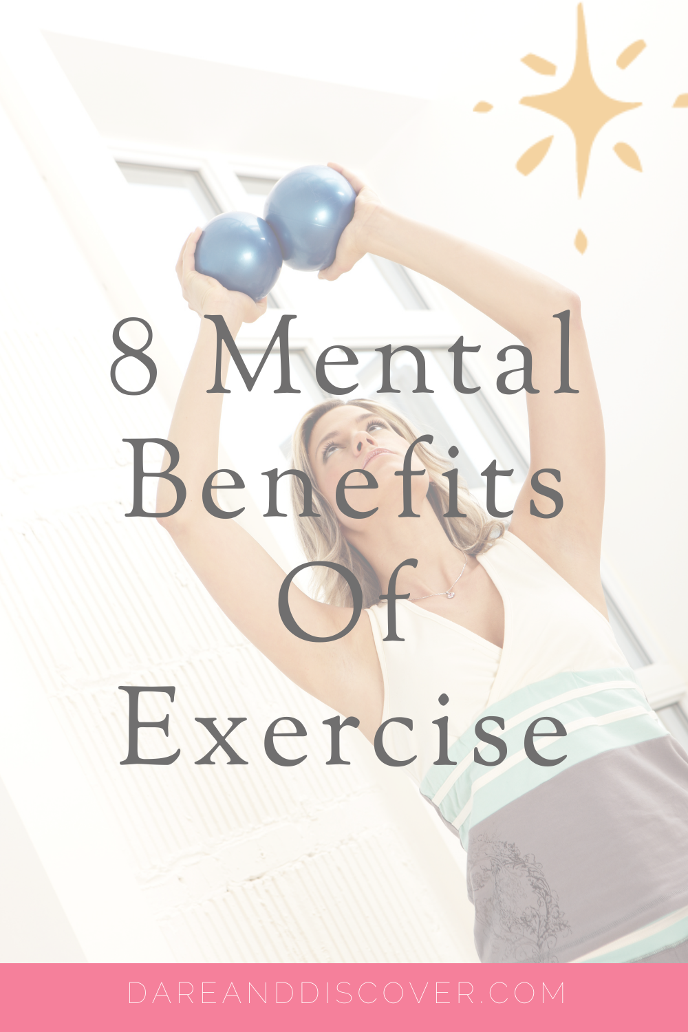 Everyone knows that exercise is good for physical health and fitness. However, there are mental benefits to exercise as well. Having a fitness routine can help improve our mental health, so it's worth knowing about the benefits of exercise on mental health. This post explains 8 ways that fitness benefits mental health. | Exercise And Mental Health | Health And Fitness | Mental Wellbeing | #HealthAndFitness #MentalHealth #Exercise