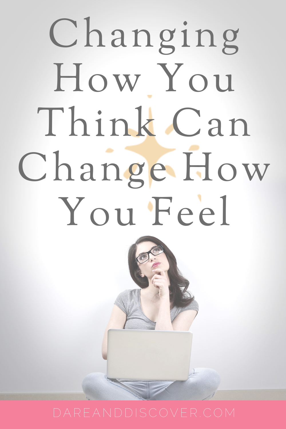 In Cognitive Behavioural Therapy, it's proposed that changing how you think can change how you feel. The mind is a powerful force that we should use for our benefit! If we can change how we think it can help motivate us to do the things we're passionate about. Don't let fear hold you back, change how you think and that can help to get rid of the fear! | Thoughts And Feelings | CBT | Negative Thinking | #ThoughtsAndFeelings #CBT #NegativeThinking