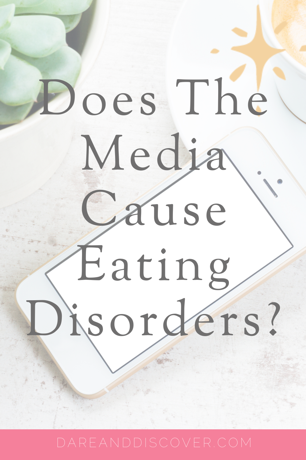 With the ever-increasing popularity of visual platforms like Instagram and apps such as Facetune, together with print/online magazines' commentary on the physical attributes of women, it seems some people are asking does the media cause eating disorders? | EatingDisorders | MentalHealth| #Anorexia #EatingDisorders #Bulimia #BingeEating