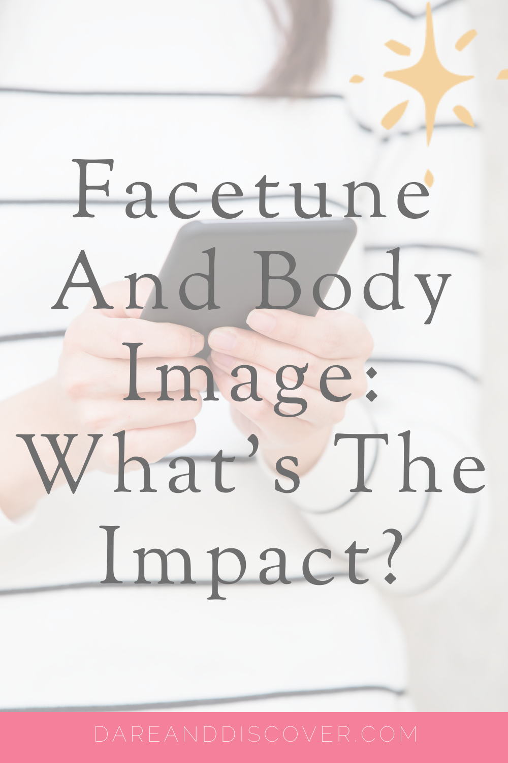 It's well known that a lot of people on Instagram use Facetune to alter their appearance. However, when it comes to Facetune and body image what impact is it having on us? 90% of adolescents use social media for over two hours a day and selfie culture can cause girls to compare themselves to others. I test out Facetune with some 'interesting' results and reflect on social media and body image | Social Media And Body Image | Body Dysmorphia | #Facetune #BodyImage #SocialMedia