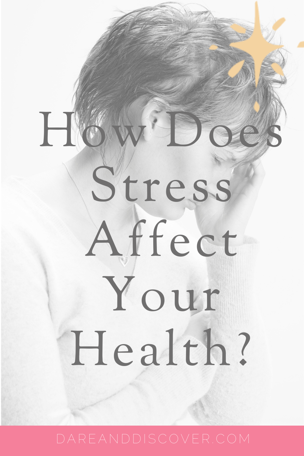 A certain amount of stress is normal and it's a part of every day life. However, ongoing stress isn't good for us and can affect our mental and physical health. So, if you want to know how stress affects your health check out this post! | Impact Of Stress | Effect Of Stress | #Stress #StressManagement #EffectOfStress