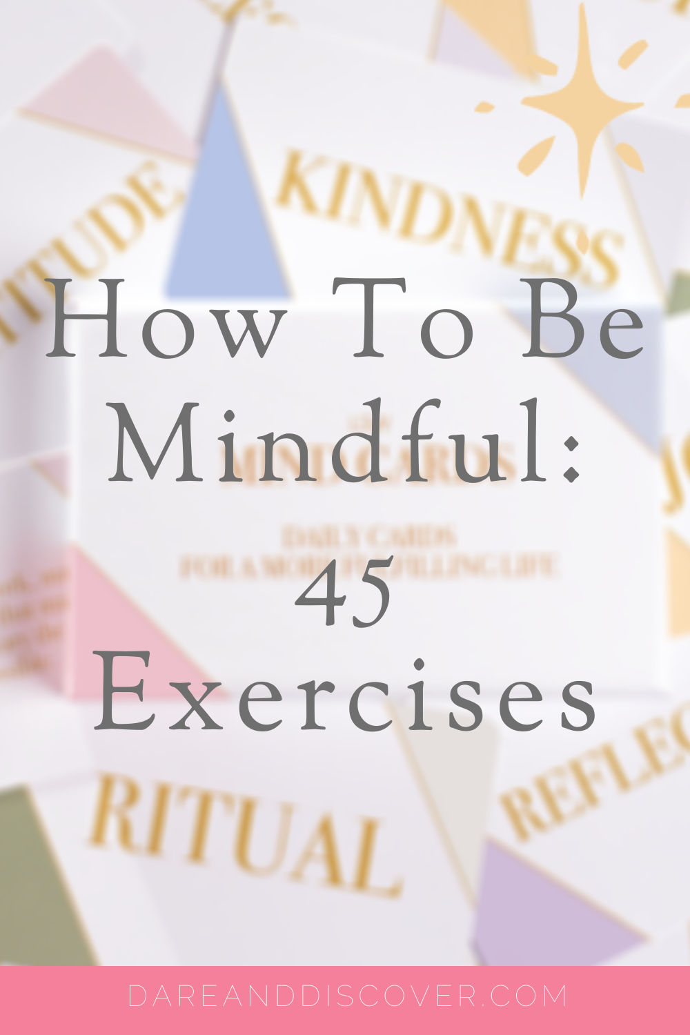 I often get stuck for ways of how to be mindful. I reviewed the LSW Mind Cards by Cognitive Hypnotherapist Lili Sinclair-Williams as I wanted to increase my ways of being mindful. If you're looking for ways to increase your mindfulness practice, these cards are a great addition to help you be more mindful | Mindfulness Practice | How To Be Mindful | Mindfulness Exercises | Mindfulness Activities | #Mindfulness #Mindful #SelfCare