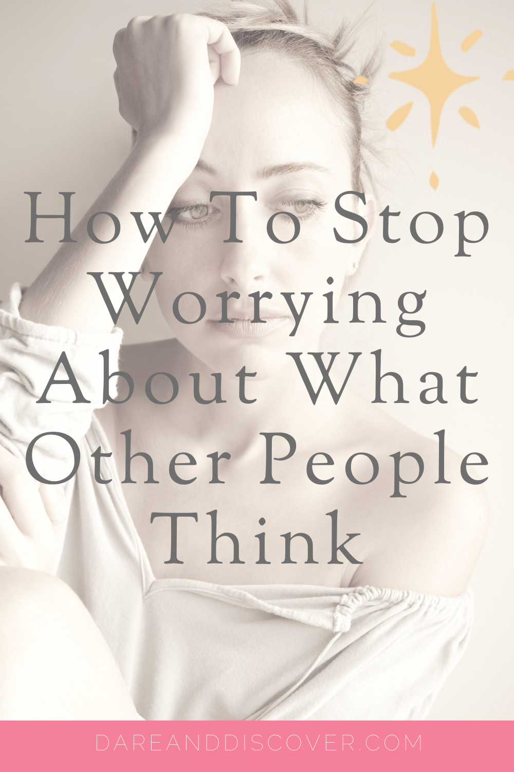 Sometimes I find myself questioning how to stop worrying about what other people think? Do you have trouble worrying about what people think of you? Do these worries and fears hold you back? I talk about ways you can try to tackle the worry of what other people think.   Worrying What People Think   Don't Let Fear Hold You Back   #FeelTheFear