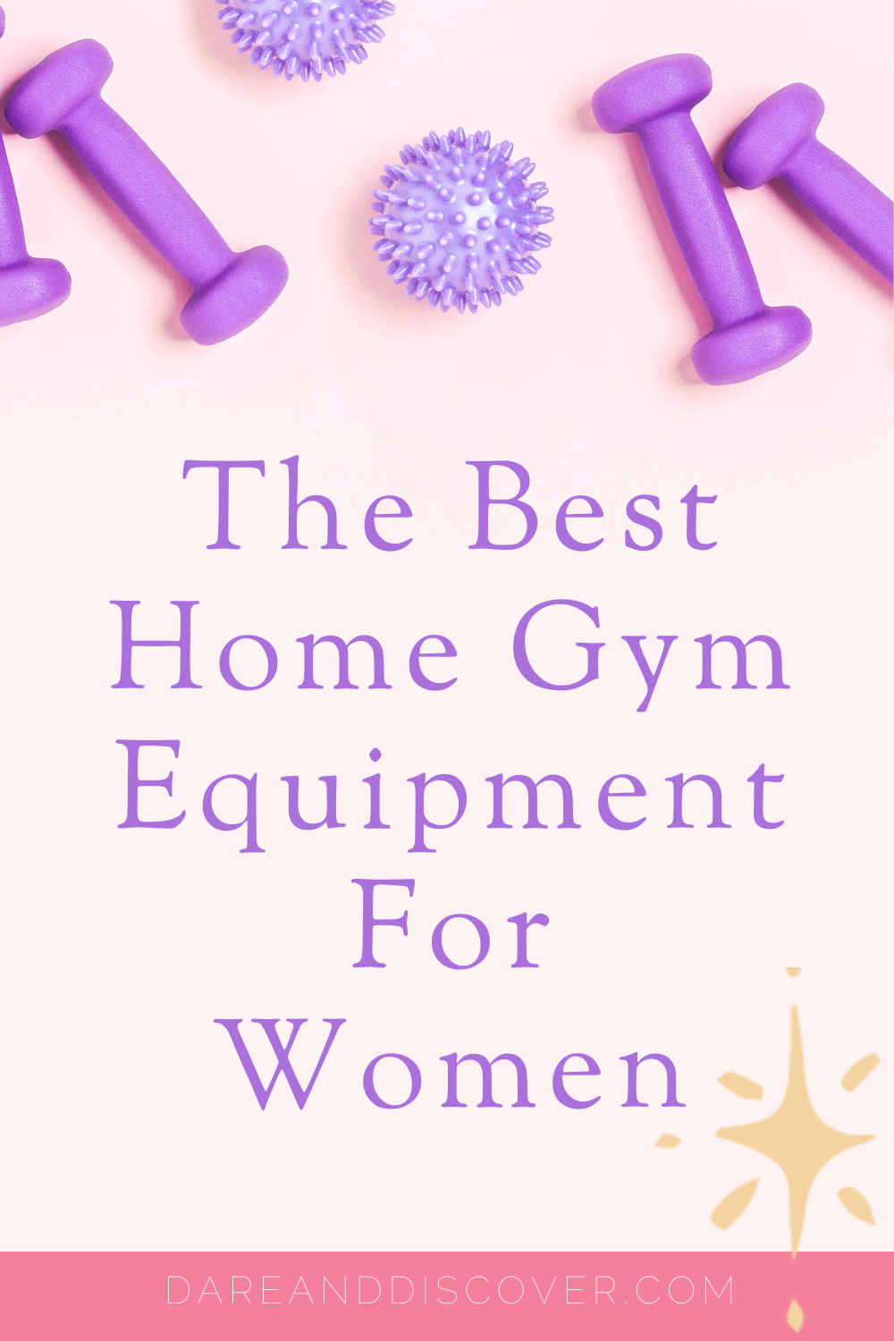 Not everyone likes working out in the gym, so building a home gym can be a great option. I list my favourite pieces of home gym equipment that will help you on your health and fitness journey. They range from dumbbells to fit balls, resistance bands to yoga mats! There's an option for everyone, but why not have it all?! | Home Gym Equipment | Home Gym For Women | Build Your Own Home Gym | #Fitness #HealthAndFitness #HomeGym