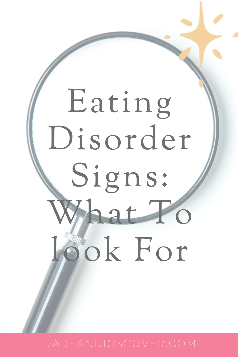 If you're worried about yourself, or someone you know, with regards to eating disorders then here are the commons signs for Anorexia Nervosa, Bulimia Nervosa, and Binge Eating Disorder. The signs and symptoms of eating disorders might not always be obvious, and it's always better to seek the guidance and advice from a medical and/or mental health professional | Anorexia Signs | Bulimia Signs | Binge Eating Disorder Signs | #EatingDisorders #EatingDisorderSignsAndSymptoms