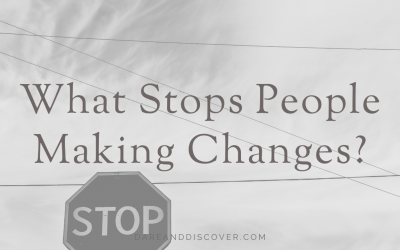 What Stops People Making Changes?