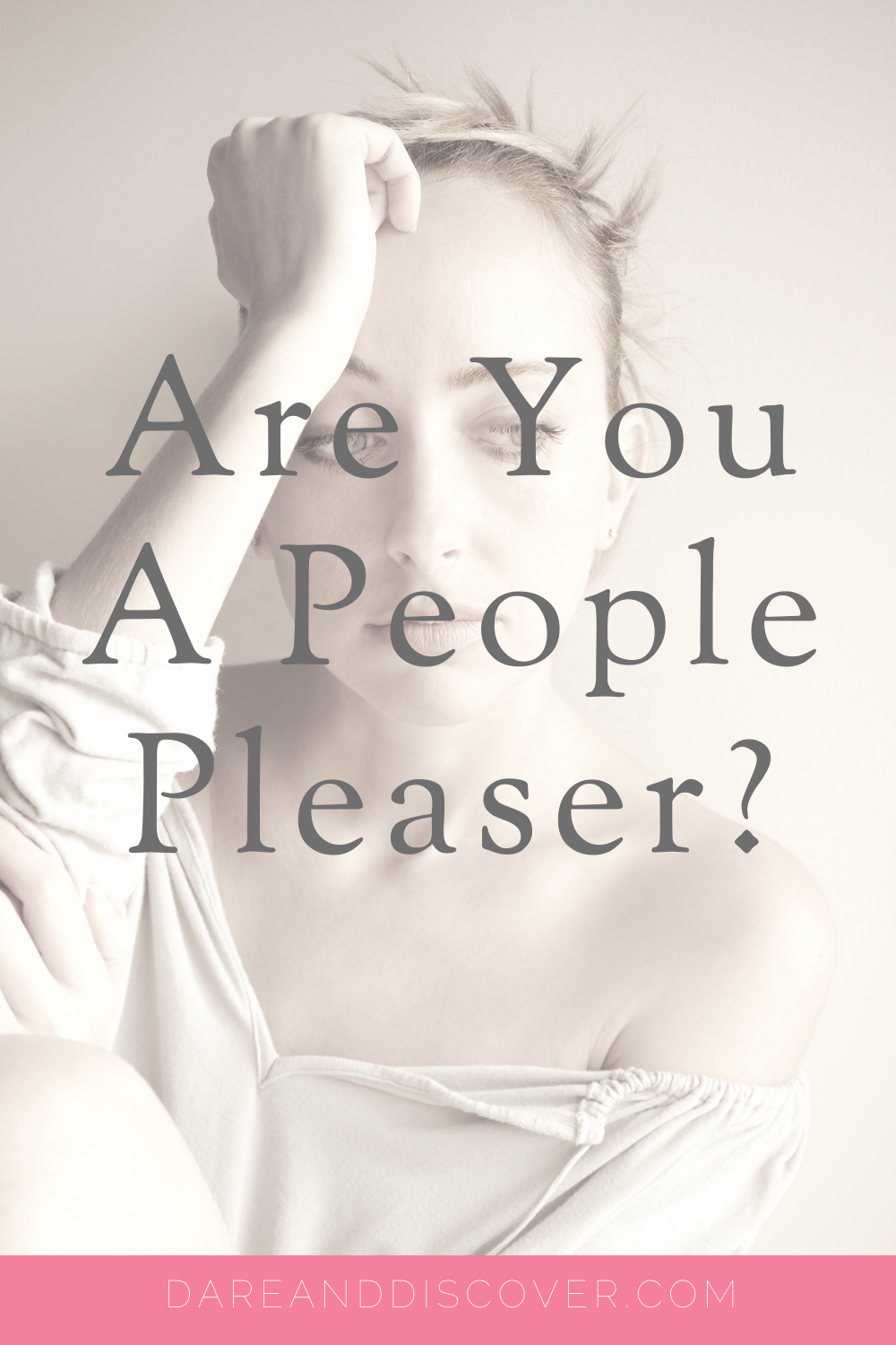If you're a people pleaser, you might find it difficult to put boundaries in place with others. People pleasers may take on too much work, or do things for people that they don't really want to do. However, they might find it hard to say no for fear of offending someone or letting them down| People Pleaser | Personal Boundaries | #PeoplePleaser #Boundaries